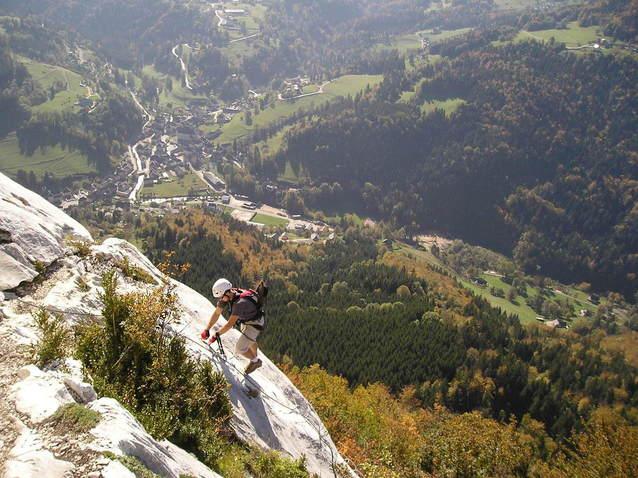 Rock Climbing in French Alps