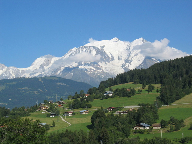 alps Accommodation and Scenery