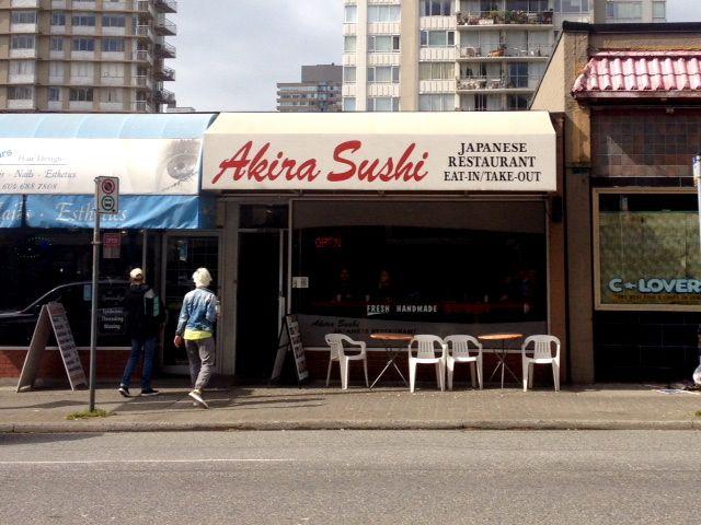 Akira Sushi, Vancouver Cheap Eats