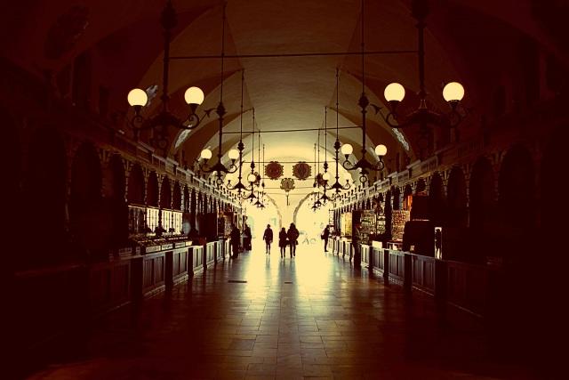visiting Krakow Poland The Cloth Hall