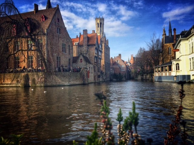 Belgian Weekend - Bruges architecture
