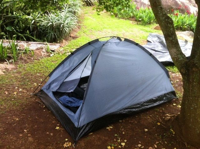 camping on south africa garden route