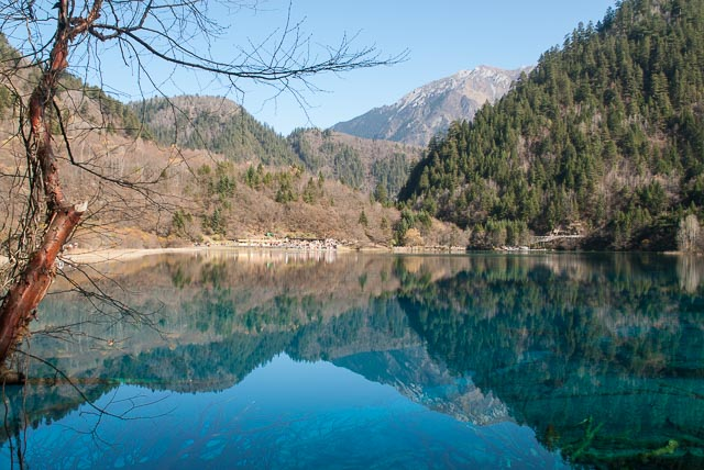 The Blue Lakes of Jiuzhaigou