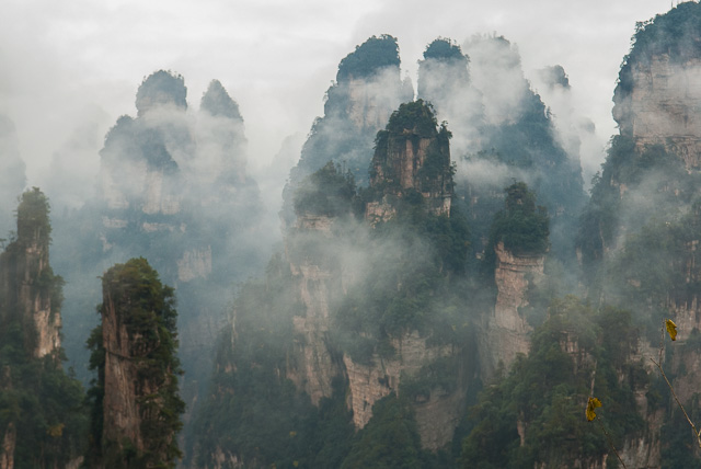 The Floating Mountains of Zhangjiajie
