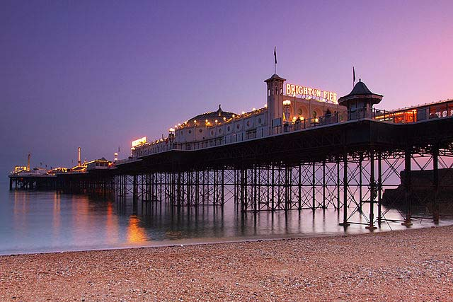 Brighton- english seaside towns