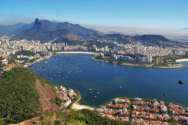 Rio one of the world's most romantic destinations.