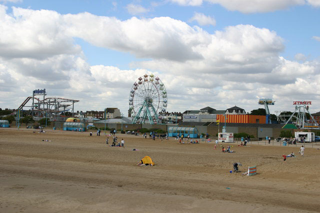 Skegness English seaside towns
