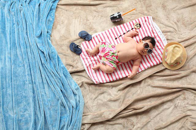 Summer Travelling with your baby