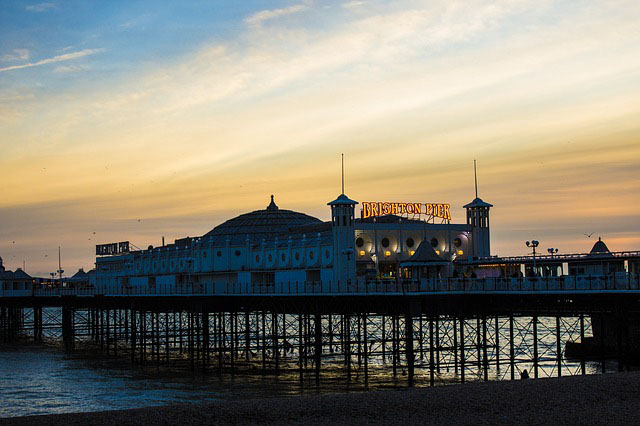 brighton English seaside towns