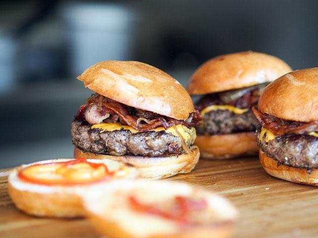 Birmingham street food burger