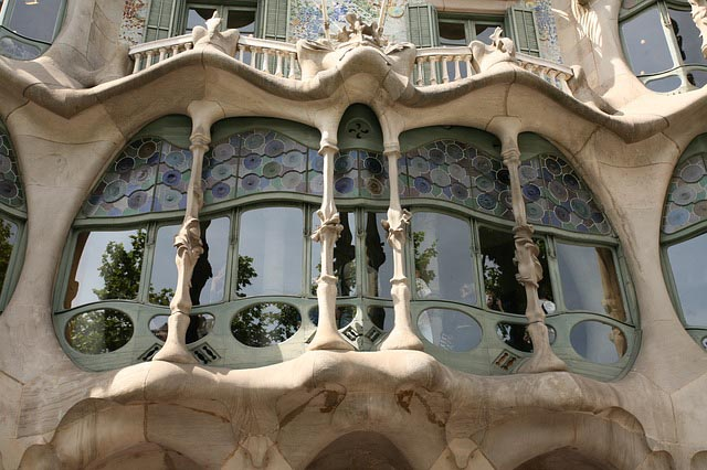 Gaudi's works in Barcelona - Casa Balto