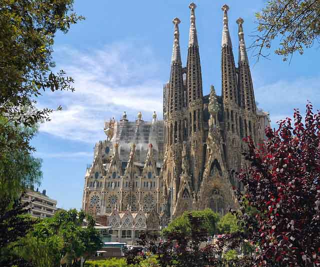 Gaudi's works in Barcelona - Sagrada Familia