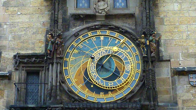 Prague top ten things to do - The Astronomical clock