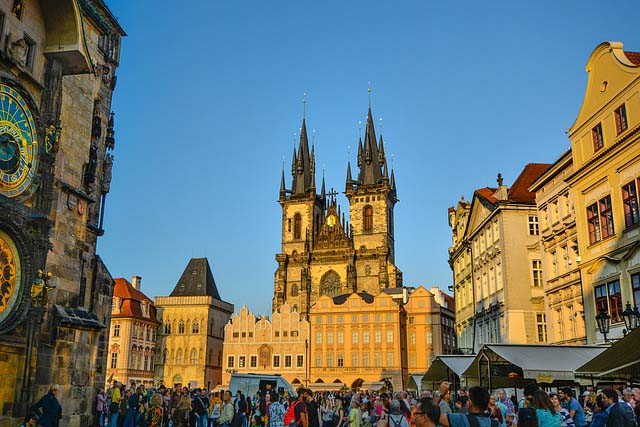Prague top ten things to do - old town square