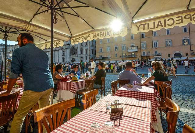 Rome city break restaurants