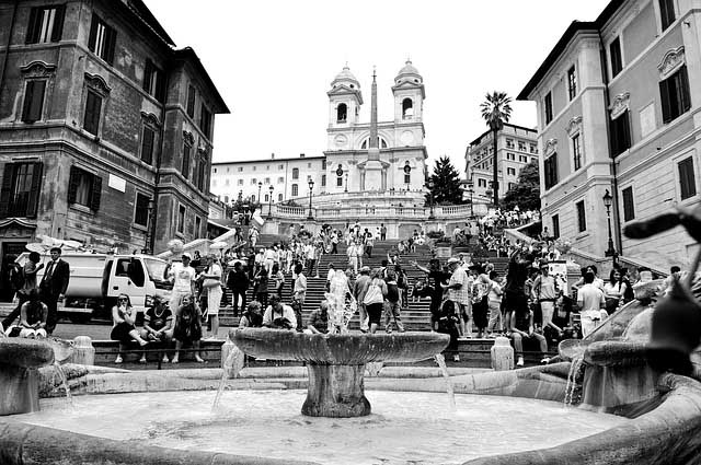 Rome city break - the Spanish steps