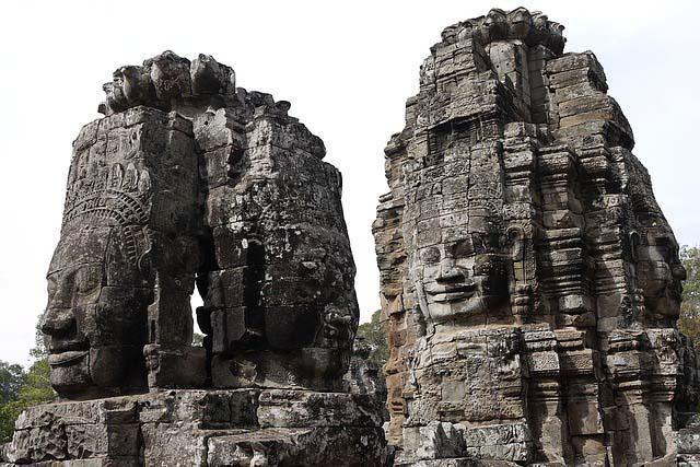 Siem reap temples - Bayon