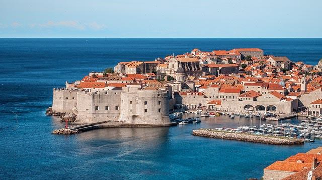 Dubrovnik Croatia - game of thrones filming location