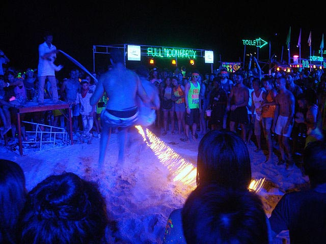 Where to party in phuket full moon party