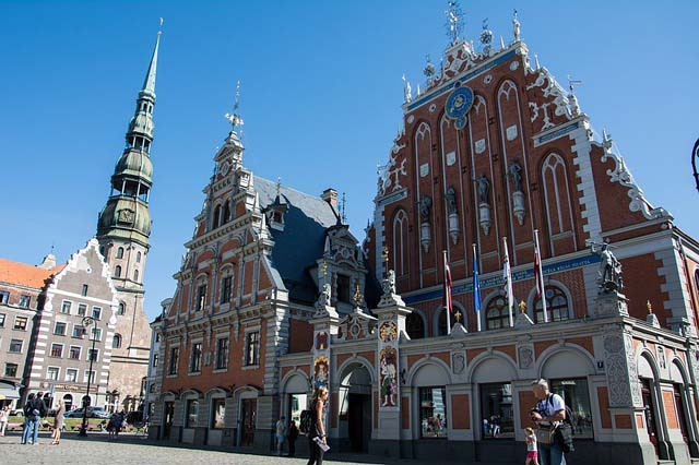 Top things to do in Riga - House of the Blackheads