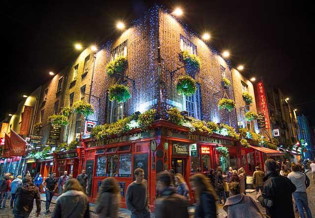 Dublin City Break temple bar