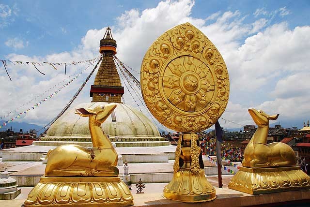 Boudhanath - Attractions in Nepal