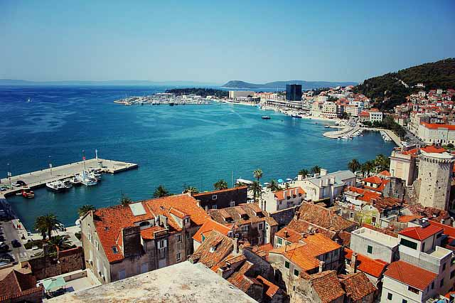 Visiting Split on the Dalmatian coast