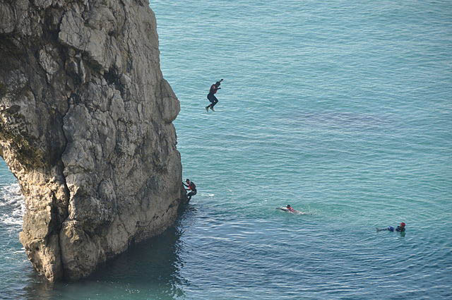 Coasteering outdoor activities to try in Wales