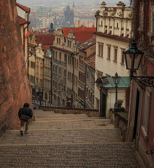 Prague- Valentine's day