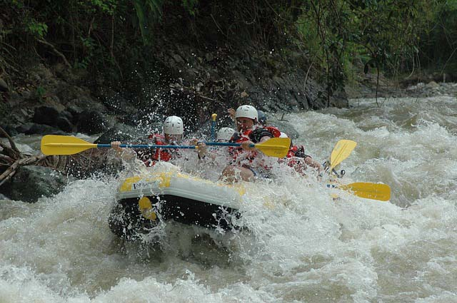 White water rafting - outdoor activities to try in Wales