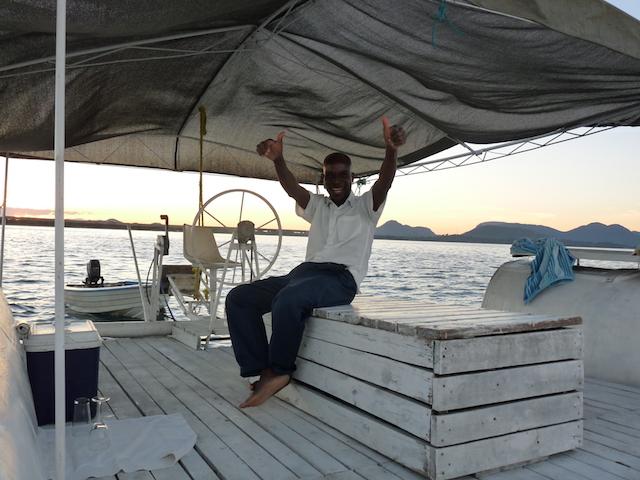 Boat trip, Malawi