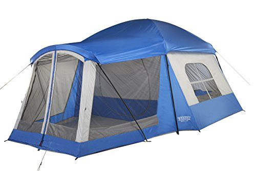 Wenzel 8 Person Klondike Tent u2013 Best family tent for living space  sc 1 st  pretravels.com & Best Family Tent Reviews - pretravels.com