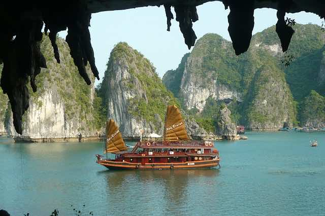Vietnam is a popular destination for international backpackers.
