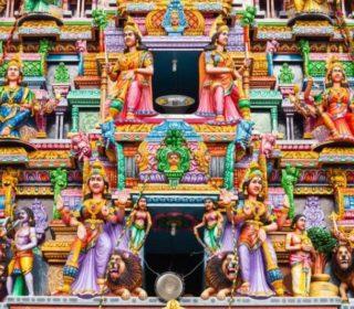 Murugan Temple in Galle Sri Lanka