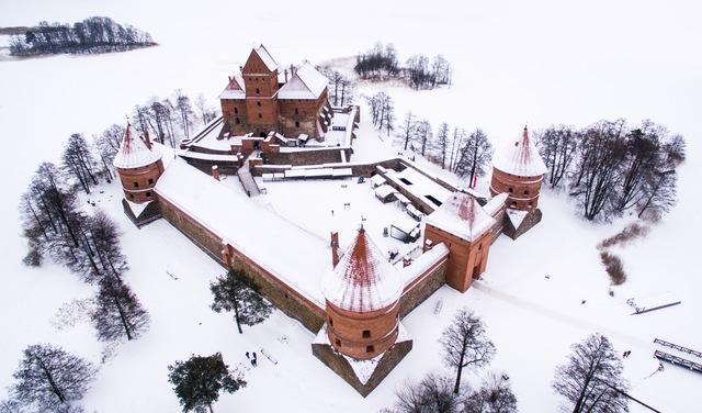 Trakai in winter
