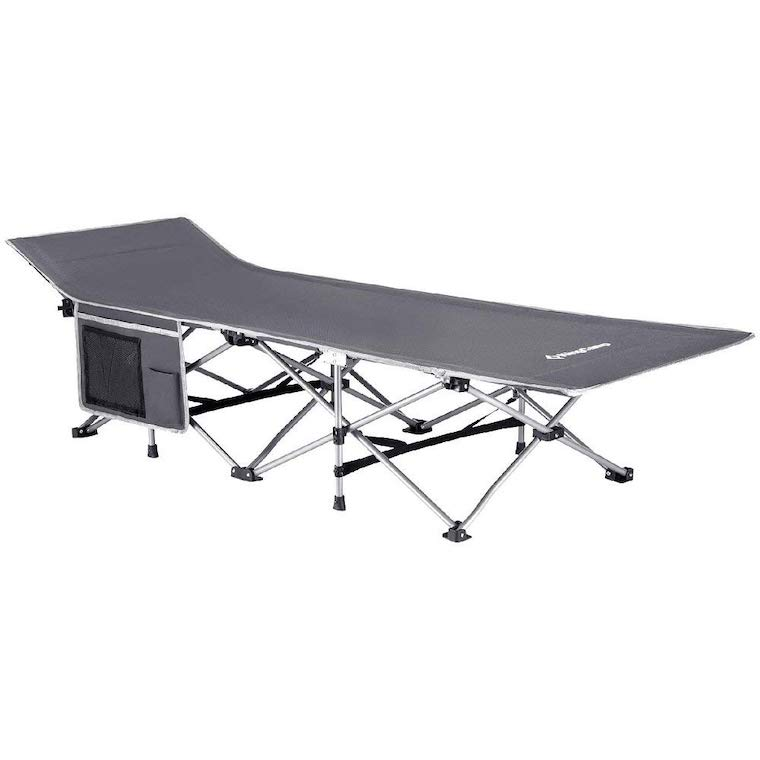 KingCamp Strong Stable Folding Camping Bed Cot