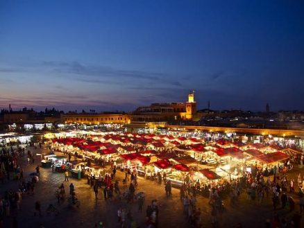 Heart of the city, Morocco.