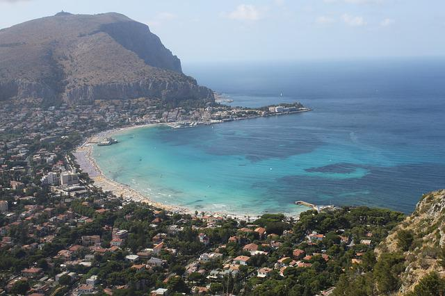palermo the coast lazur sicily