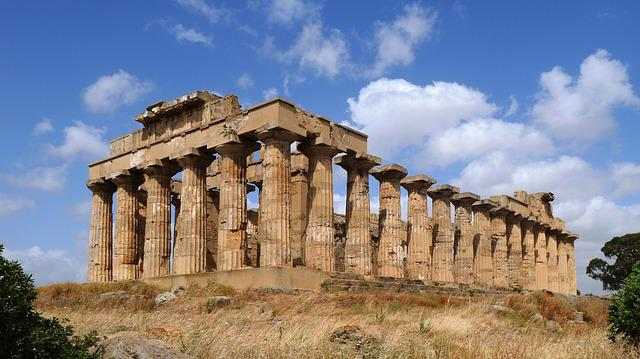 sicily selinunte temple antiquity