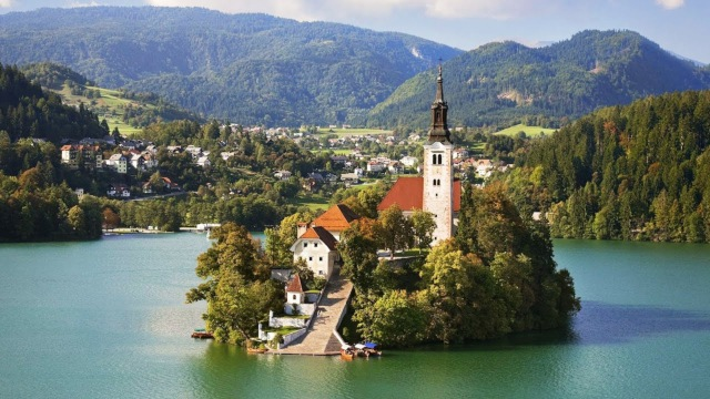 Lakes in Europe: Lake Bled