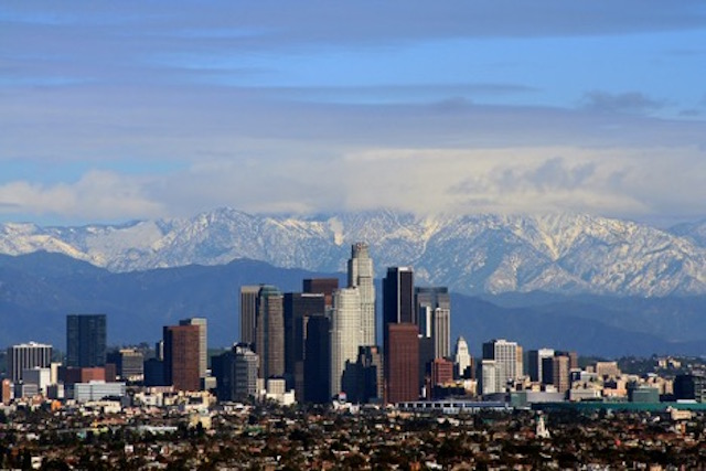 Los Angeles city of angels california