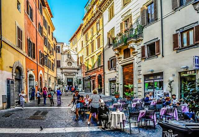 Streets of Rome - Italy