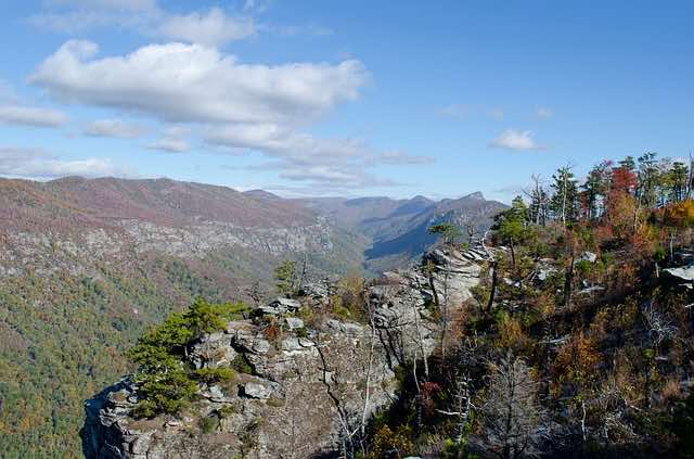 Linville Gorge is a paradise outdoor destination