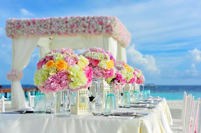 Top 3 wedding destinations