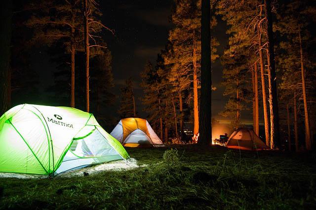 Camping near San Francisco