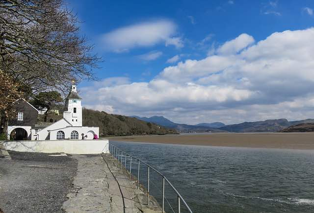 great camping destinations portmeirion in wales