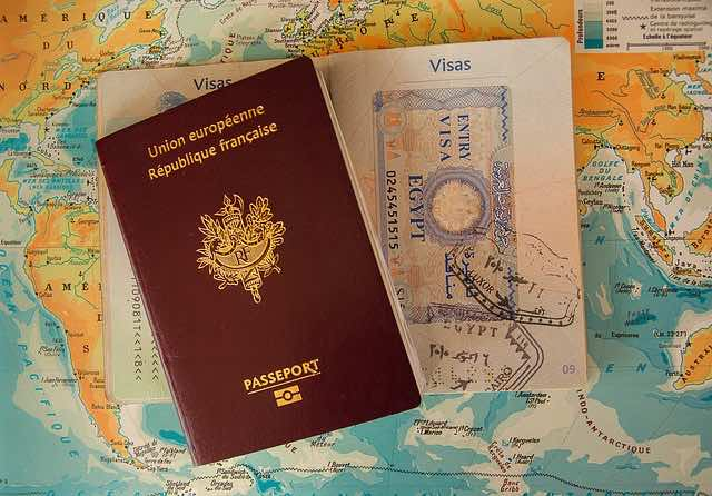 Passports from other countries