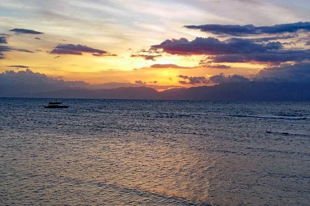 Moalboal island of Philippines