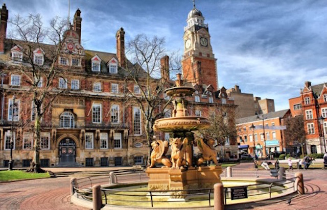 Leicester old town is great for Christmas celebration