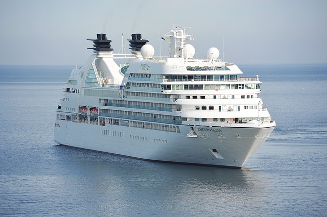 where to stay in a cruise ship to avoid seasickness